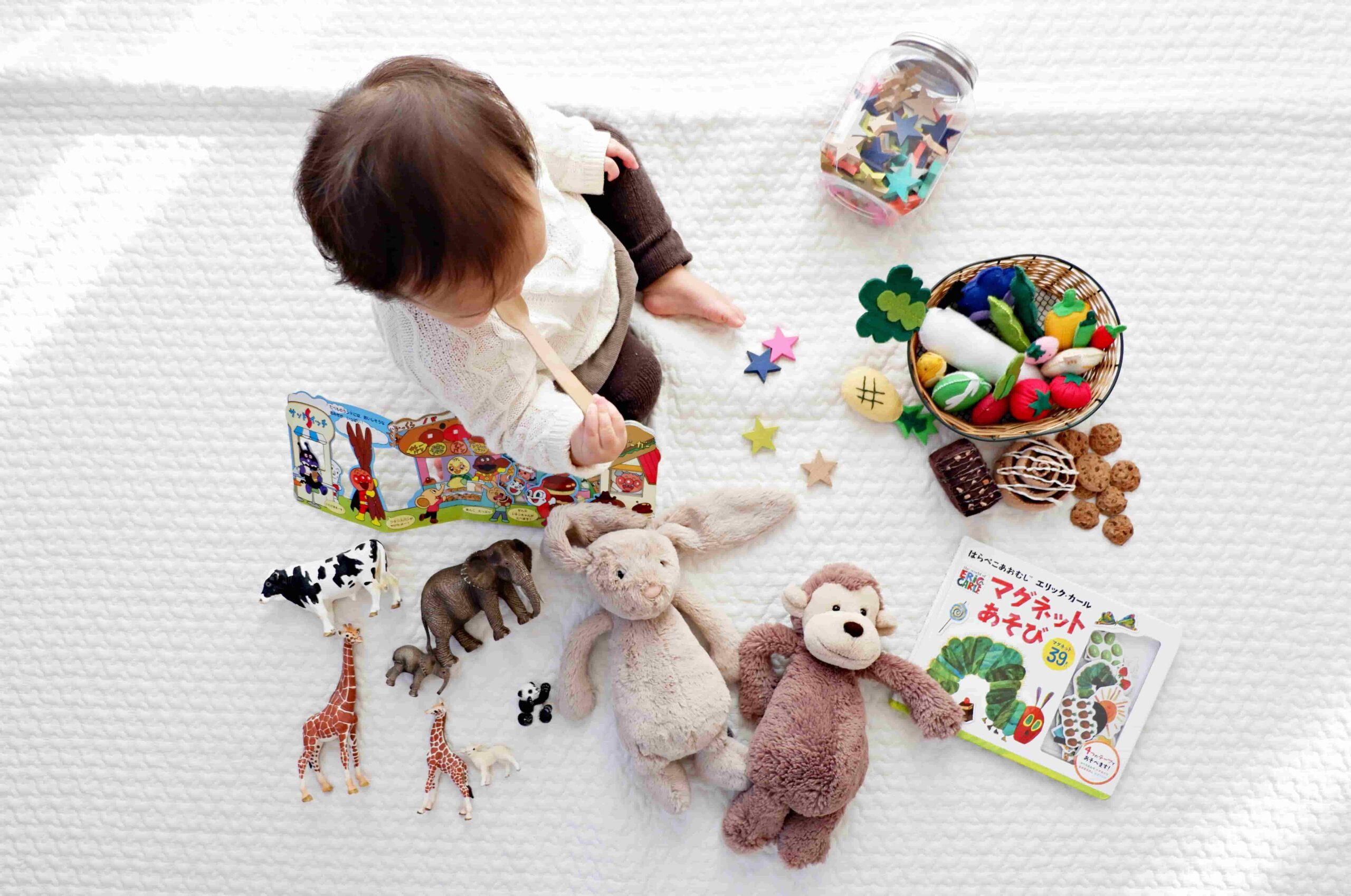 Leerzaam speelgoed voor elke leeftijd